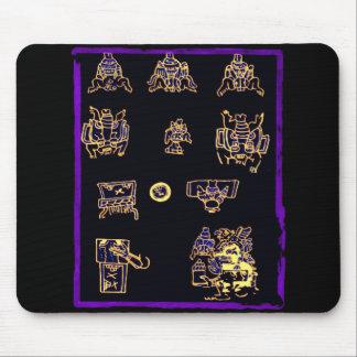 Cool Mayan Design Mouse Pad