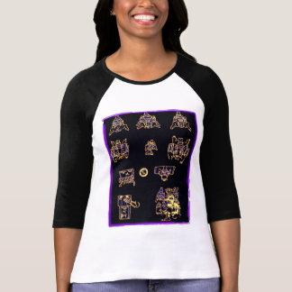 Cool Mayan Design Tee Shirts