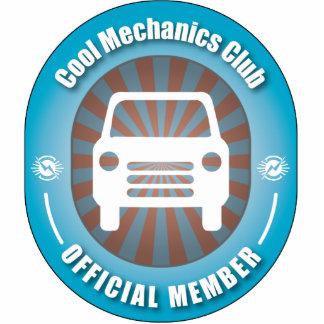 Cool Mechanics Club Photo Sculpture Ornament