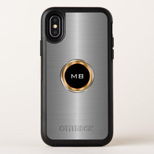 Cool Mens Business Professional Monogram Phone Case