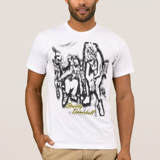 Cool mens strictly dancehall tee shirt