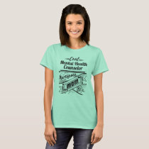 Cool Mental Health Counselor Awesome Mom T-Shirt