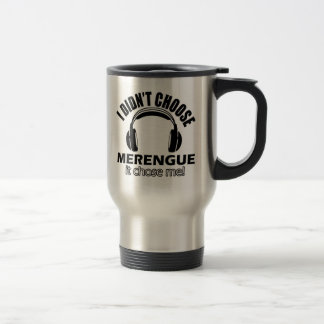 Cool merengue designs travel mug
