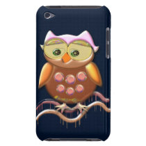 Cool Metal Owl iPod Touch Case-Mate Case