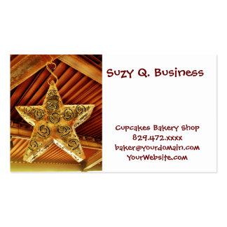 Cool Metal Star Hanging Patio Light Fixture Business Card