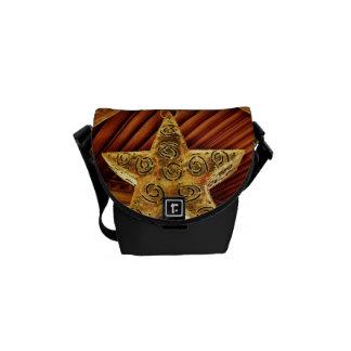 Cool Metal Star Hanging Patio Light Fixture Messenger Bags