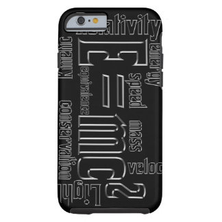 Cool Metallic Science Mass Equivalence Tough iPhone 6 Case