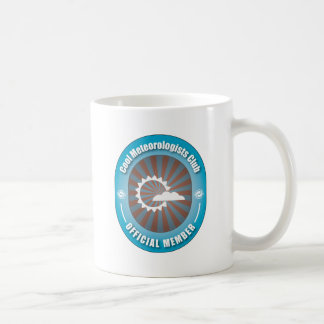 Cool Meteorologists Club Coffee Mug