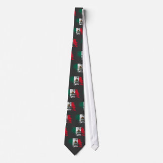Cool Mexican flag design Neck Tie