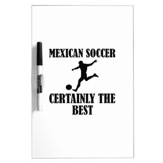 cool Mexican soccer designs Dry Erase Whiteboard