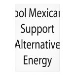 Cool Mexicans Support Alternative Energy Custom Stationery