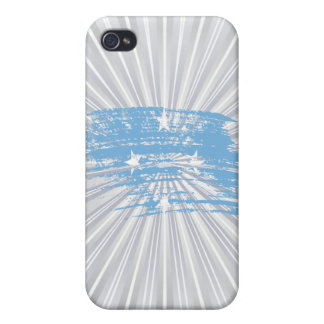 Cool Micronesian flag design iPhone 4/4S Cover
