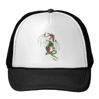 Cool Middle Age Green dragon Trucker Hat