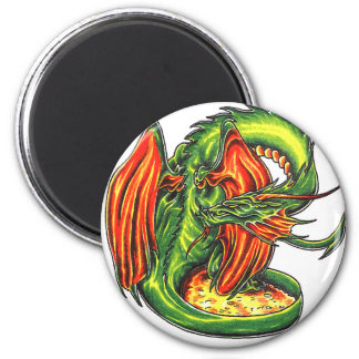 Cool   Middle Age Green Dragon    theme magnet
