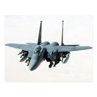 cool military aircraft helicopter Black-Hawk  f-15 Postcard