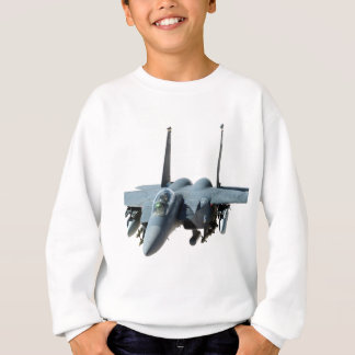cool military aircraft helicopter Black-Hawk  f-15 Sweatshirt
