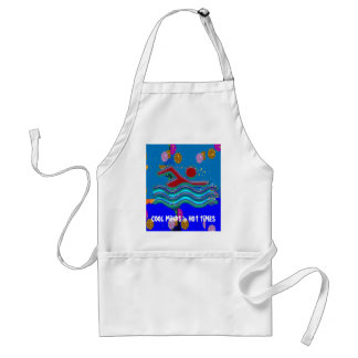 COOL MINDS in Hot Times Adult Apron