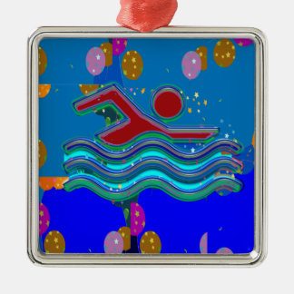 COOL MINDS in Hot Times Metal Ornament