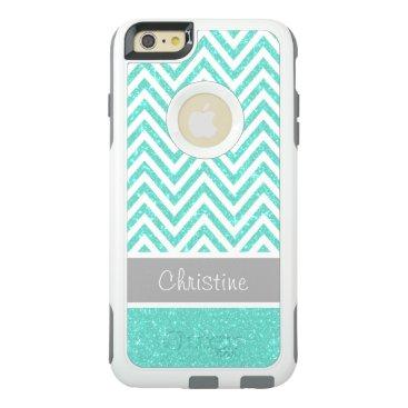 Cool Mint Glitter OtterBox iPhone 6/6s Plus Case