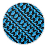 Cool Mirrored Geometric & Abstract Pattern Ceramic Knob
