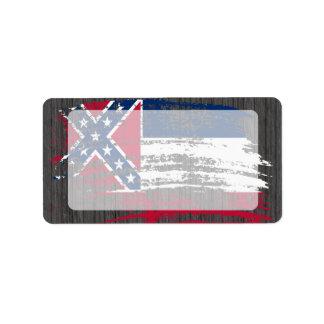 Cool Mississippian flag design Label