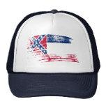 Cool Mississippian flag design Mesh Hat
