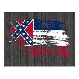 Cool Mississippian flag design Postcard