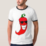 Cool Mister Red Hot Pepper Shirts