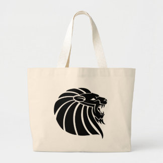 Cool MMA Lion tribal style tatto Tote Bag