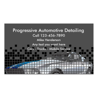 Mobile auto detailing business cards templates zazzle for Mobile auto detailing business cards