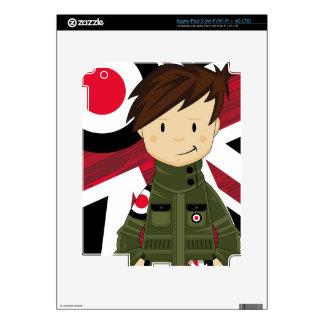Cool Mod Boy in Parka Skin For iPad 3