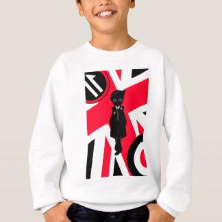 Cool Mod in Silhouette Sweatshirt
