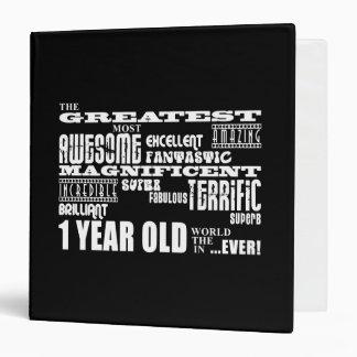 Cool Modern 1st Birthdays : Greatest 1 Year Old Binder