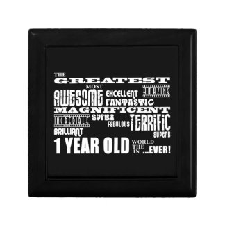 Cool Modern 1st Birthdays : Greatest 1 Year Old Trinket Box