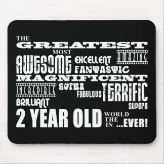 Cool Modern 2nd Birthdays : Greatest 2 Year Old Mouse Pad
