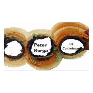 Cool Modern Abstract Art Artists Painters Business Card