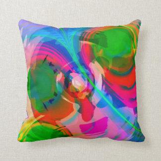 Cool Modern Abstract Art Pillow