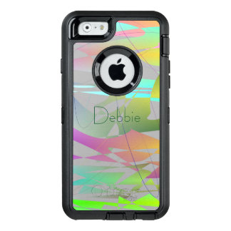 Cool Modern Abstract (change name) OtterBox Defender iPhone Case