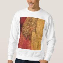 Cool, modern abstract painting art sweatshirt