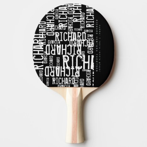 Ping-Pong paddle