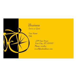 Cool Modern Bike  Contemporary Artsy Bike Woodcut Business Card