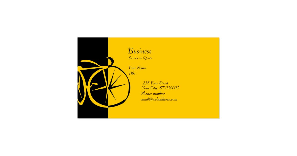 Cool modern bike contemporary artsy bike woodcut business for Artsy business cards