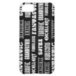 Cool Modern Design 4 Grandfathers Positive Words iPhone 5C Cases