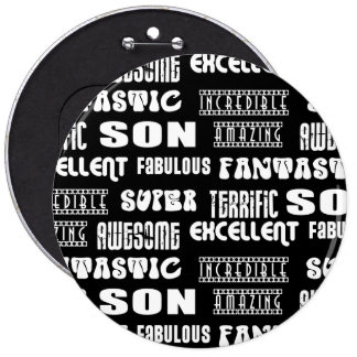 Cool Modern Design 4 Sons  Positive Words Buttons
