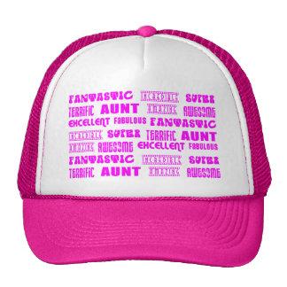 Cool Modern Design for Aunts : Positive Words Trucker Hats