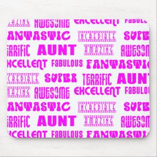 Cool Modern Design for Aunts : Positive Words Mousepads