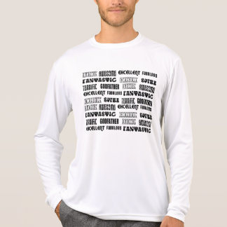 Cool Modern Design for Godfathers Positive Words Tshirt