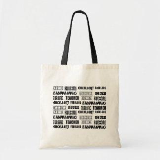 Cool Modern Design for Teachers : Positive Words Bag