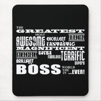 Cool Modern Fun Bosses : Greatest Boss Mouse Pad