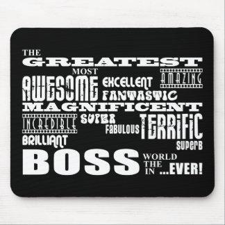 Cool Modern Fun Bosses : Greatest Boss Mouse Pad